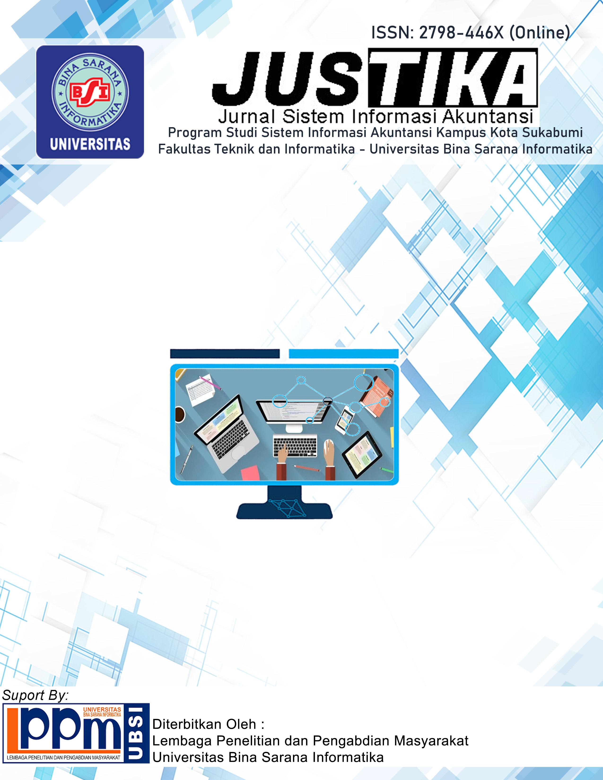 Lihat Vol 1 No 1 (2021): JUSTIKA : Jurnal Sistem Informasi Akuntansi